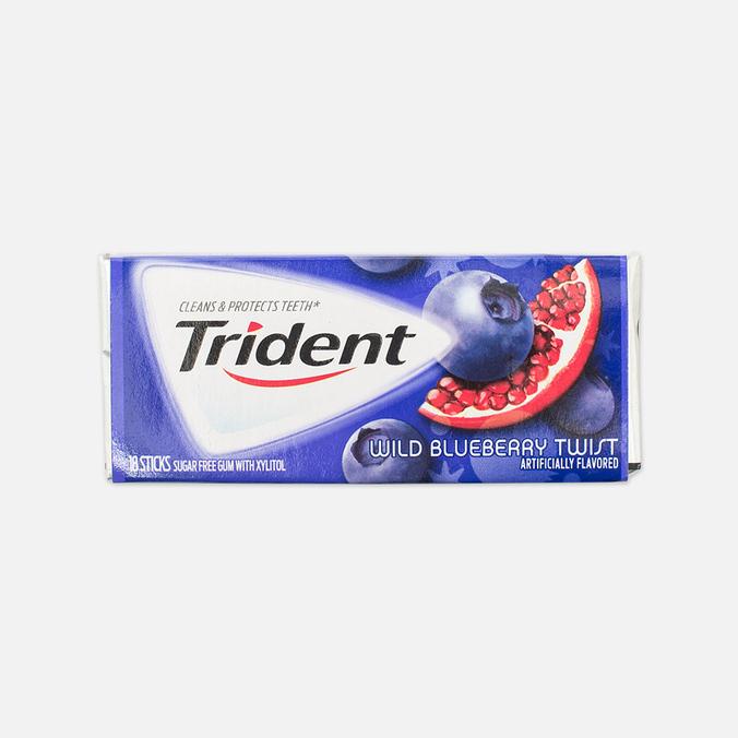 Жевательная резинка Trident Wild Blueberry Twist