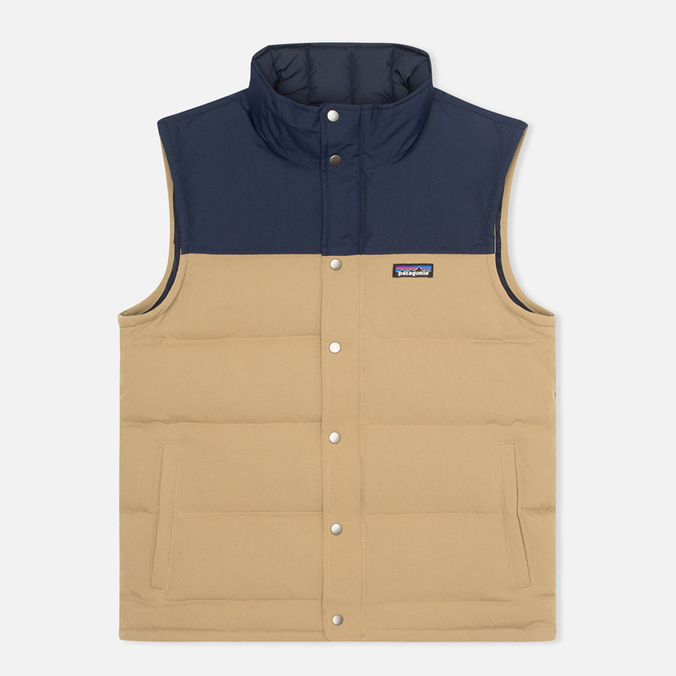 Patagonia Bivy Down Men`s Vest Ash/Tan