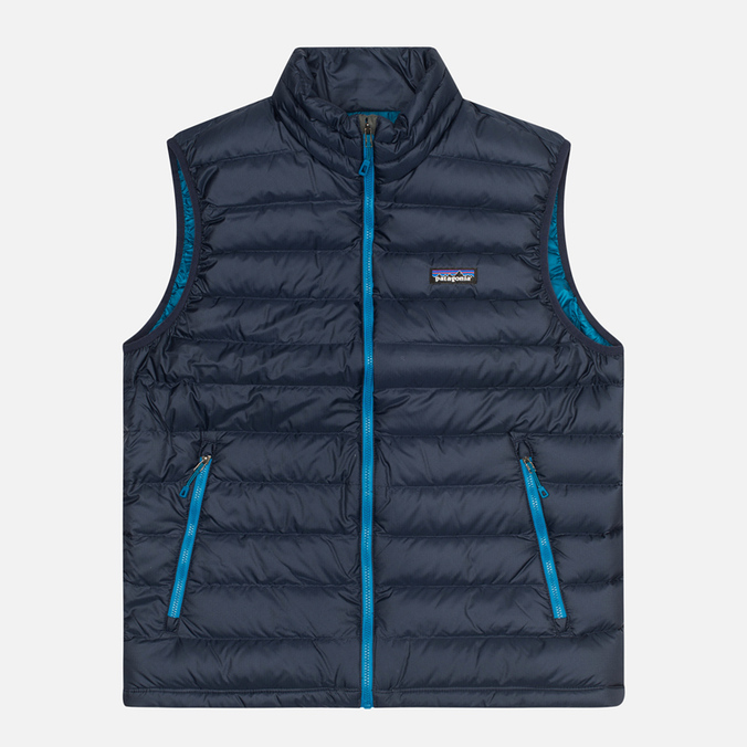 Мужской жилет Patagonia Down Sweater Navy Blue