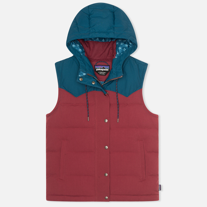 Женский жилет Patagonia Bivy Hooded Oxblood Red