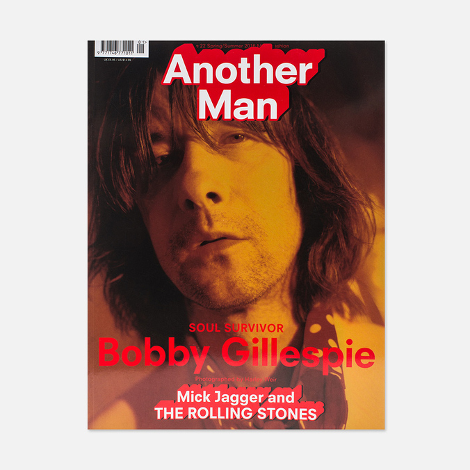 Журнал Another Man Issue 22 Spring/Summer 2016 - Bobby Gillespie