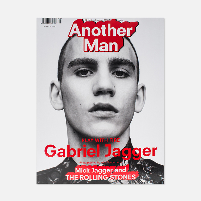 Журнал Another Man Issue 22 Spring/Summer 2016 - Gabriel Jagger
