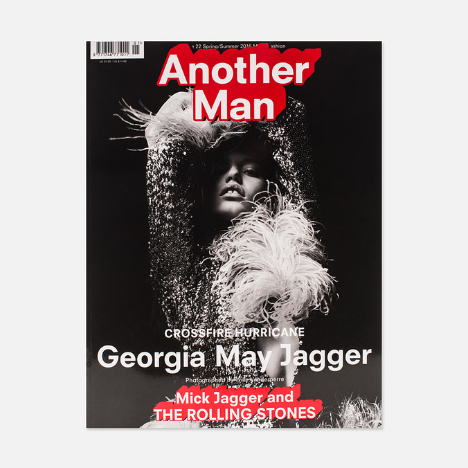 Журнал Another Man Issue 22 Spring/Summer 2016 - Georgia May Jagger