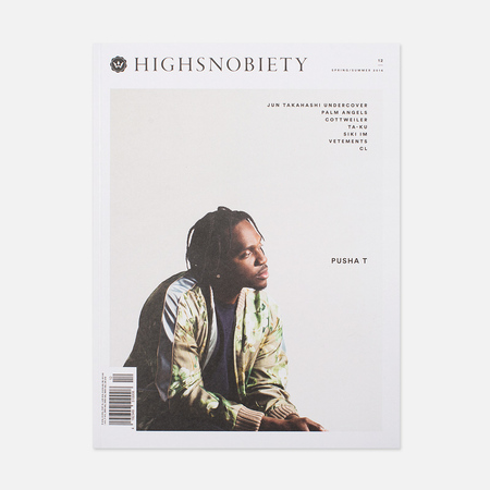 Журнал Highsnobiety Issue 12 Spring/Summer 2016 - Pusha T