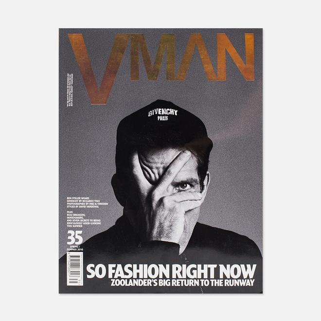 Журнал V Man № 35 Spring/Summer 2016 - Ben Stiller Part 2