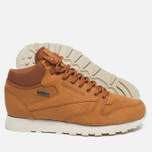 Зимние кроссовки Reebok Classic Leather Mid Gore-Tex Brown Malt/Paper White/Beach Stone/Stucco фото- 2
