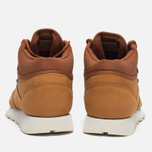 Зимние кроссовки Reebok Classic Leather Mid Gore-Tex Brown Malt/Paper White/Beach Stone/Stucco фото- 5