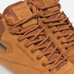 Зимние кроссовки Reebok Classic Leather Mid Gore-Tex Brown Malt/Paper White/Beach Stone/Stucco фото- 3