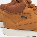 Зимние кроссовки Reebok Classic Leather Mid Gore-Tex Brown Malt/Paper White/Beach Stone/Stucco фото- 4