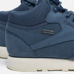 Зимние кроссовки Reebok Classic Leather Mid Gore-Tex Royal Slate/Paper White/Beach Stone/Brown фото- 3