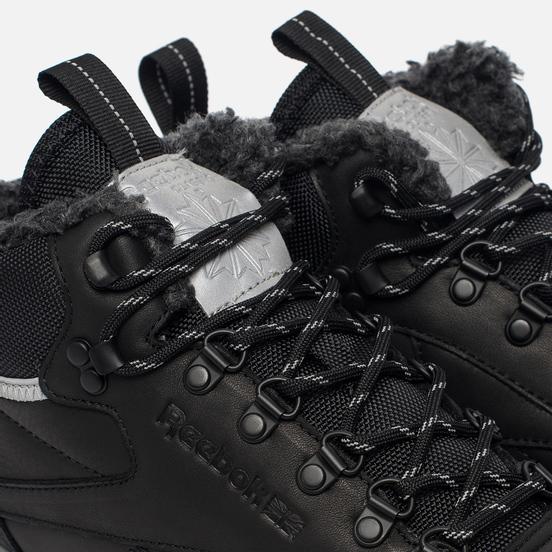 Зимние кроссовки Reebok Classic Leather Mid Sherpa II SPP Black/Medium Grey/Grey