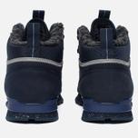 Зимние кроссовки Reebok Classic Leather Mid Sherpa II SPP Navy/Colbalt/Grey/Black фото- 3