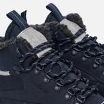 Зимние кроссовки Reebok Classic Leather Mid Sherpa II SPP Navy/Colbalt/Grey/Black фото- 5