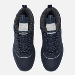 Зимние кроссовки Reebok Classic Leather Mid Sherpa II SPP Navy/Colbalt/Grey/Black фото- 4