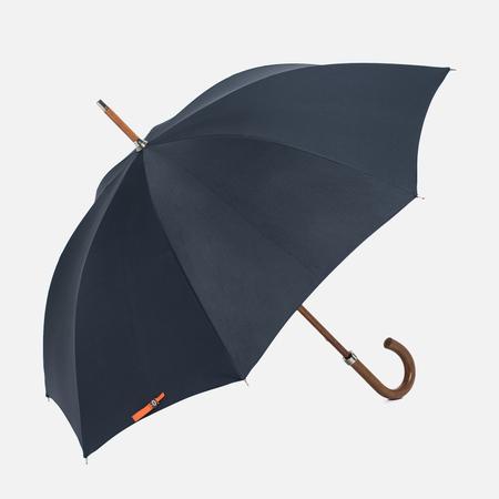 Зонт-трость London Undercover City Gent Lifesaver Malacca Handle Navy