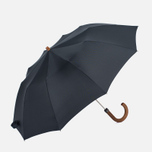 Зонт складной London Undercover Maple Handle Black фото- 0