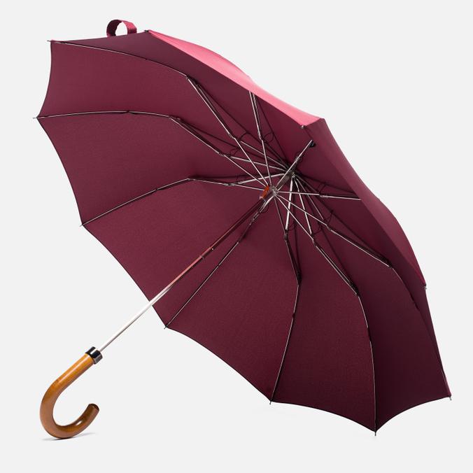 Зонт складной London Undercover Maple Handle Burgundy
