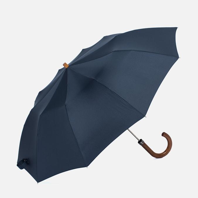Зонт складной London Undercover Maple Handle Dark Navy