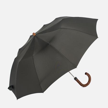 Зонт складной London Undercover Maple Handle Olive Green