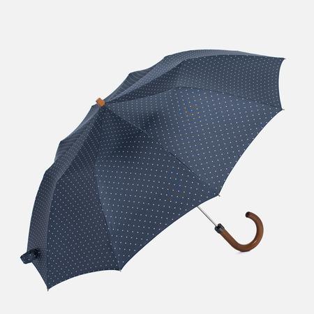Зонт складной London Undercover Maple Handle Polka Dot