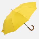 Зонт складной London Undercover Maple Handle Yellow фото- 0