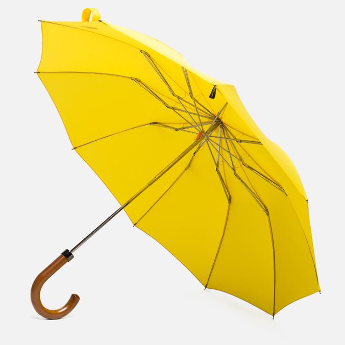 Зонт складной London Undercover Maple Handle Yellow