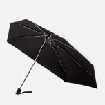 Зонт складной Senz Umbrellas Smart S Shiny Silver фото- 0