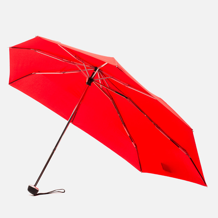 Senz Umbrellas Smart S Folding Umbrella Sunset Red