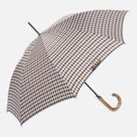 Зонт-трость Aquascutum Club Check Walker Vicuna фото- 0