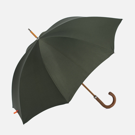 Зонт-трость London Undercover City Gent Defence Malacca Handle Olive Green