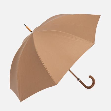 Зонт-трость London Undercover City Lux Leather Fastener Malacca Handle Khaki