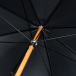 Зонт-трость London Undercover Malacca City Gent Solid Black фото- 1