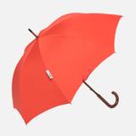 Зонт-трость London Undercover Oxford Classic Maple Wood Orange фото- 0