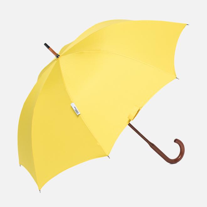 Зонт-трость London Undercover Oxford Classic Maple Wood Yellow