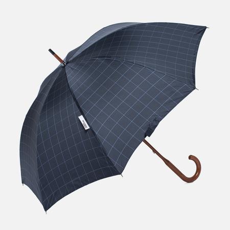 Зонт-трость London Undercover Windowpane Classic Maple Wood Yellow