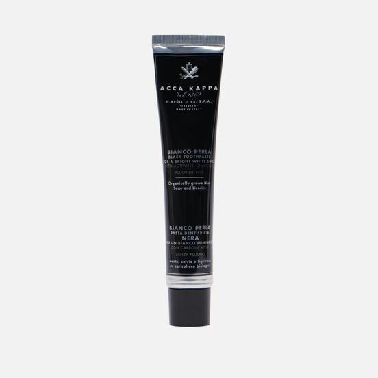 Зубная паста Acca Kappa Activated Charcoal 100ml