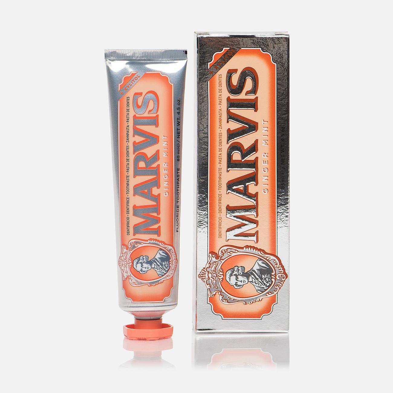 Зубная паста Marvis Ginger Mint + XYLITOL 85ml