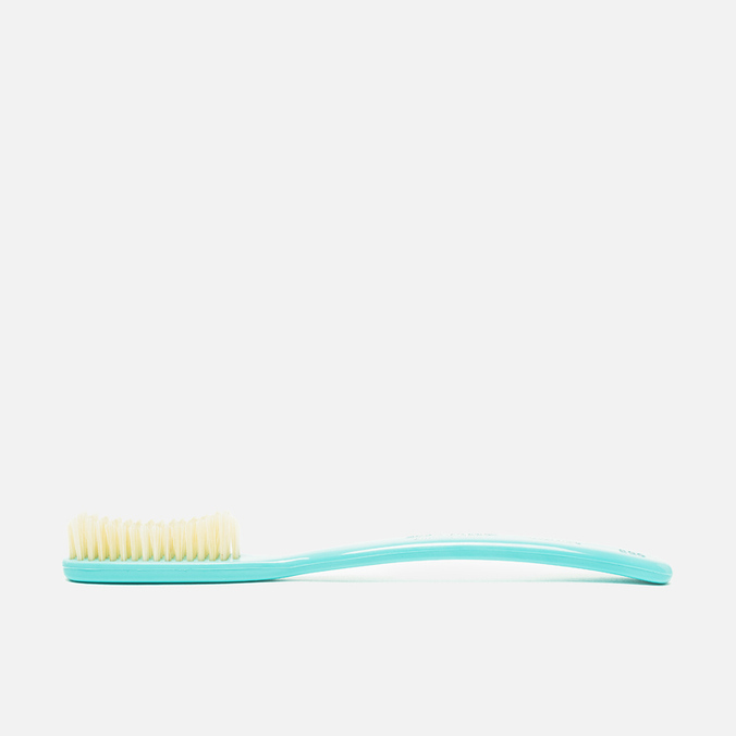 Acca Kappa Extra Hard Pure Bristle Large Toothbrush Turquoise