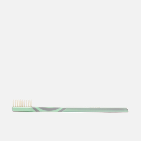 Зубная щетка Acca Kappa Historical Collection Hard Pure Bristles Green/Grey