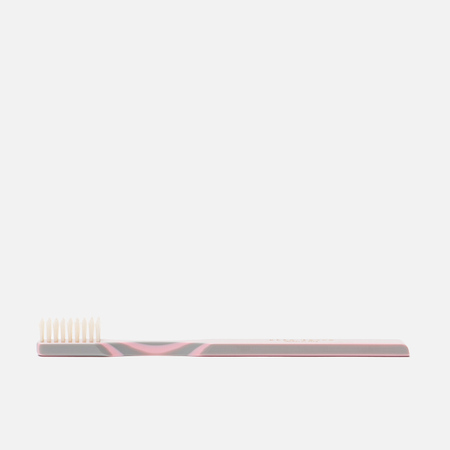 Зубная щетка Acca Kappa Historical Collection Hard Pure Bristles Pink/Grey