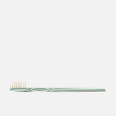 Зубная щетка Acca Kappa Historical Collection Medium Pure Bristles Green/Grey
