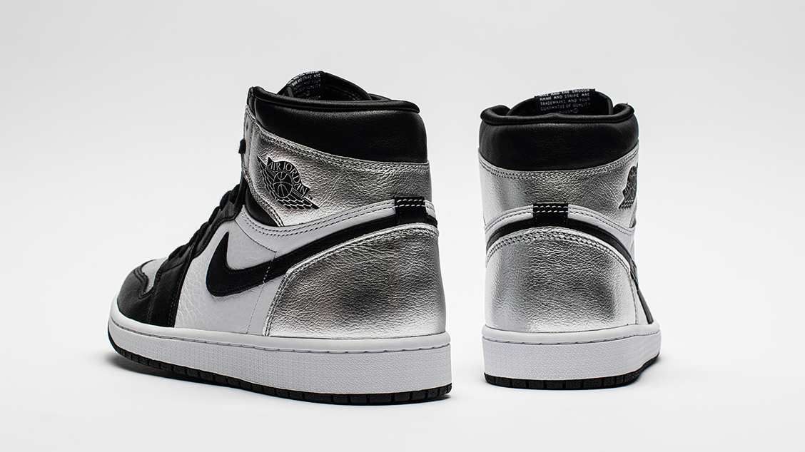 Air Jordan Silver