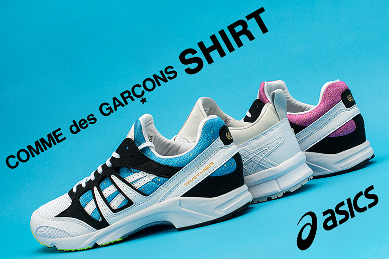ASICS x Comme des Garcons SHIRT SS21: взгляд под другим углом