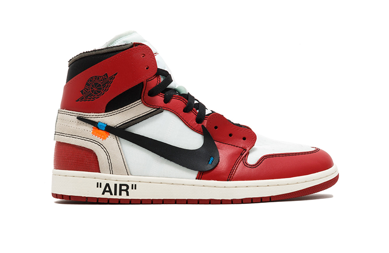 The Off-White x Air Jordan 1