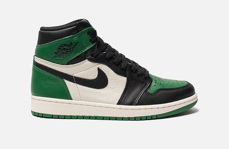 Air Jordan 1 Retro High OG «Pine Green»