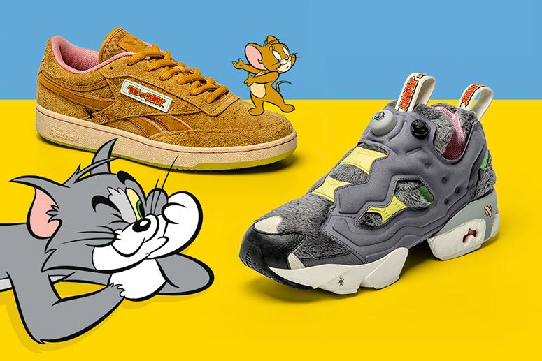 Reebok × Tom & Jerry: к юбилею героев детства