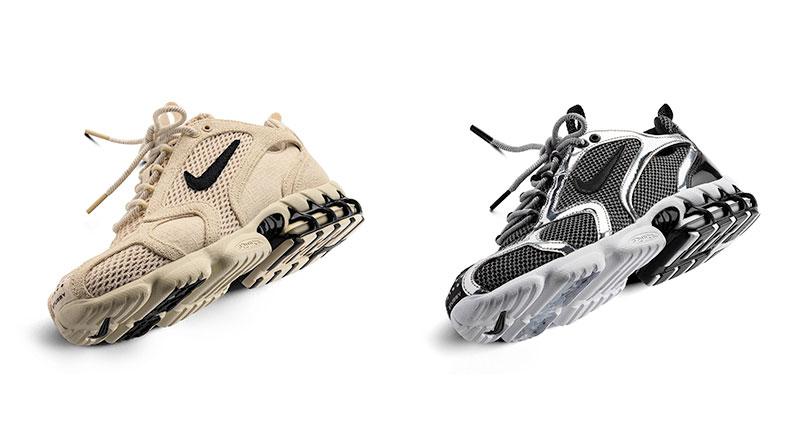 Кроссовки из релиза Nike x Stussy Air Zoom Spiridon Cage 2