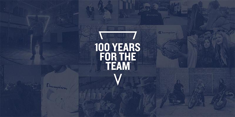 Проект #CHAMPION100 посвящён командной работе во всех её проявлениях