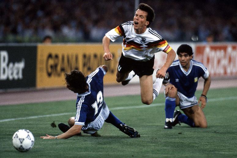 ЧМ-1990. ФРГ — Аргентина