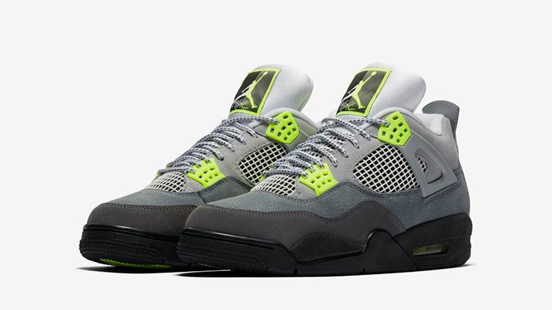 Air Jordan 4 '95 Neon